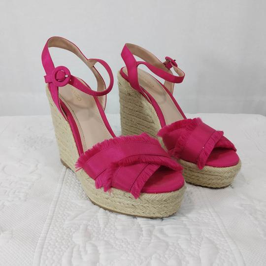 Chaussure compensée fuchsia- Mango - Pointure 37 - Photo 0