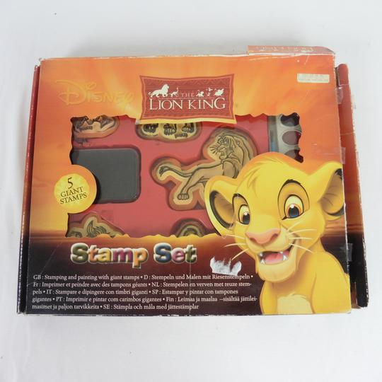 Lot de 5 Tampons Le Roi Lion Disney - Photo 0