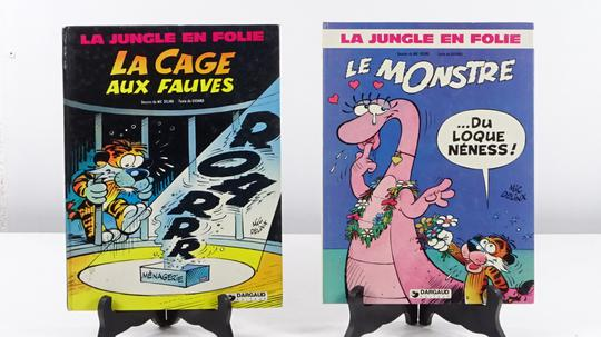 7 Volumes de La Jungle en Folie - Photo 1