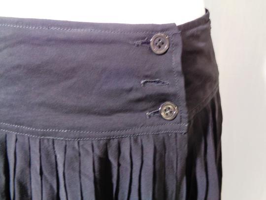Jupe Noire Transparente 34 Taille Plissée Longue qUMGSpzV