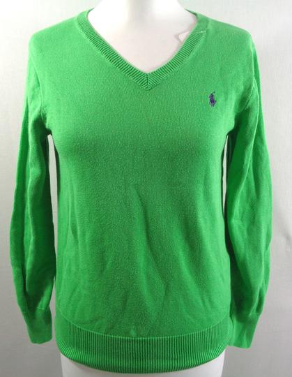 7ef2f5cdebc4 Pull vert - RALPH LAUREN - Taille XS sur Label Emmaüs, boutique en ...