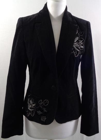 Veste blazer velours brodée - CAROLL - Taille 36 sur Label Emmaüs ... 9b4fbed9d1bb