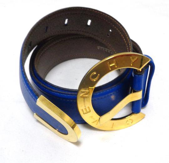 Ceinture bleue 100% cuir - GIVENCHY sur Label Emmaüs, boutique en ... 35d6ac7069f