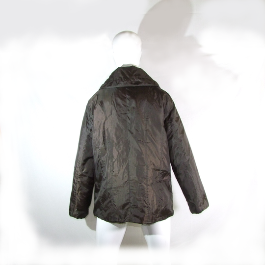 new list wholesale dealer great quality Manteau marron foncé col châle taille 42/44