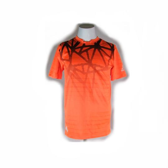 Veste de foot orange fluo