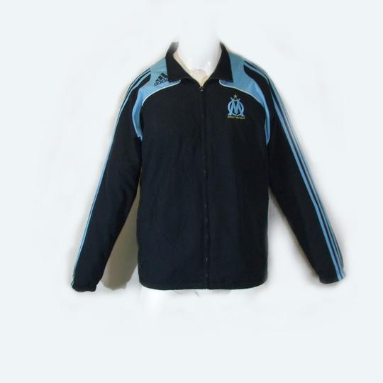 Veste de survêtement bleu et turquoise ADIDAS OM taille 42 44 - Photo ... 8675bedd9e1