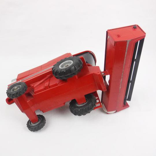 Jouet Ertl Miniature Batteuse Ih Rouge Case Moissonneuse UVpqSMz