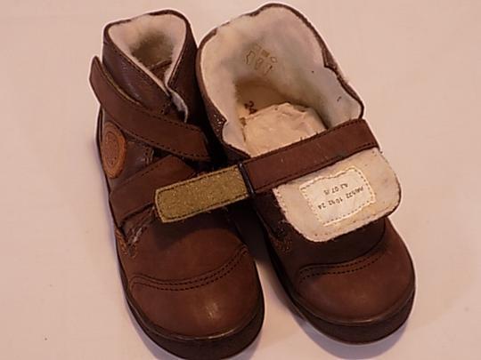 Chaussures Foncé Taille24 Kickers Enfants Marron 1lFKJTc3