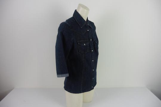 Chemise en jean denim authentique Femme Made with love taille 40 - Photo 1