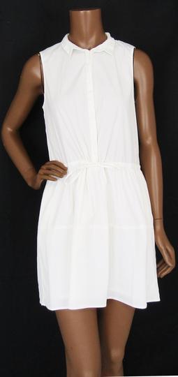Robe Legere Blanche T 42 Femme Label Emmaus