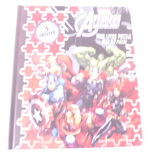 Livre BD puzzles Marvel avengers - Photo 0