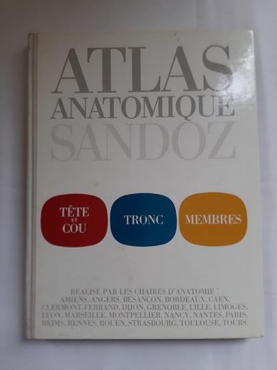 ATLAS ANATOMIQUE SANDOZ - TETE ET COU - TRONC - MEMBRES. 1973 - Photo 0