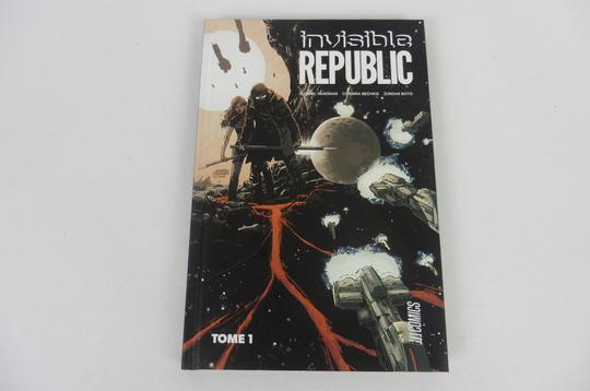 BD Invisible Republic Tome 1 de Hardman & Bechko éditions Hi-Comics - Photo 0
