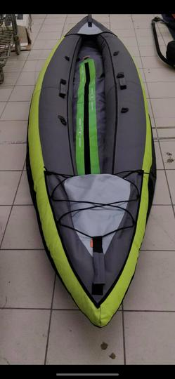Canoe Kayak Gonflable 2 Places Itiwit Decathlon Label Emmaus