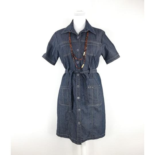 Robe en Jean Mise au Green - Photo 0