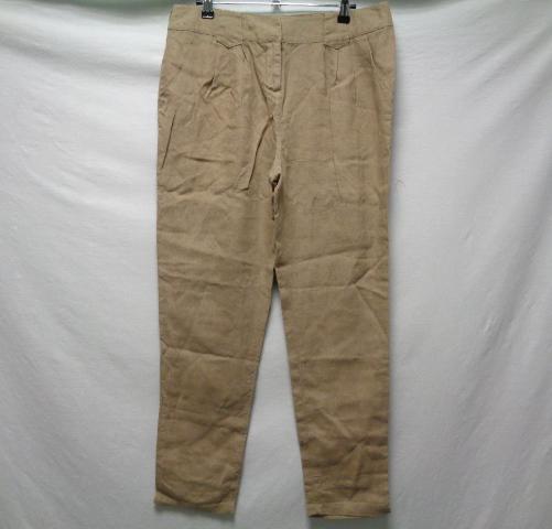 cd9c1ee583d2d6 Pantalon en lin kaki - Promod - taille 42