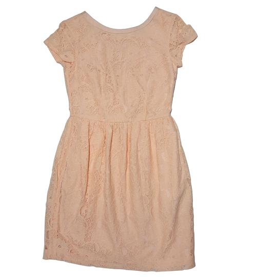 Robe dentelle rose pastel H&M Conscious Collection T 34 - Photo 0