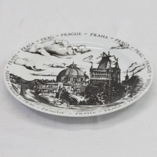 Assiette souvenir de Prague - assiette de collection - Photo 2