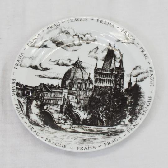 Assiette souvenir de Prague - assiette de collection - Photo 0