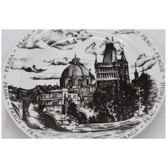Assiette souvenir de Prague - assiette de collection - Photo 1