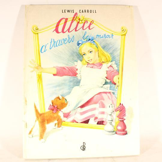 Alice à travers le miroir de Lewis Caroll sur Label Emmaüs, boutique ... 19122524a3d