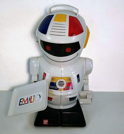 Ancien gros robot Emilio sur Label Emmaüs, boutique en ligne solidaire
