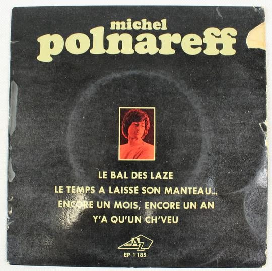 Michel Polnareff - Le Bal Des Laze (Disc'AZ, France, 1968). - Photo 0