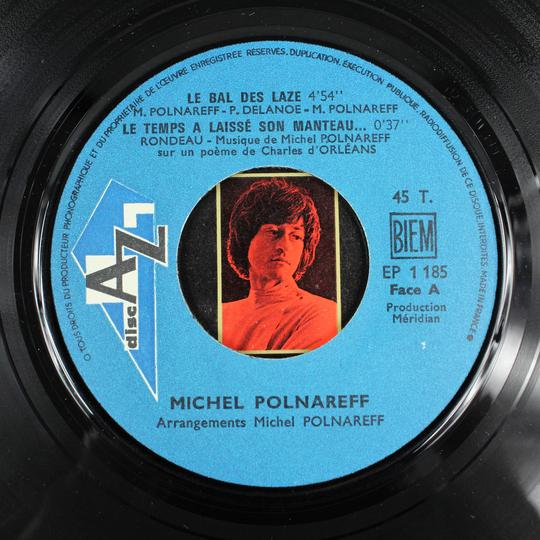 Michel Polnareff - Le Bal Des Laze (Disc'AZ, France, 1968). - Photo 3