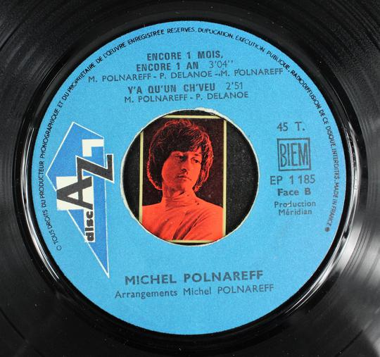 Michel Polnareff - Le Bal Des Laze (Disc'AZ, France, 1968). - Photo 4