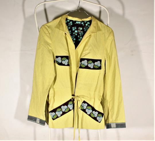 bas prix 0f09d eae44 Veste femme jaune en coton Kenzo taille 44