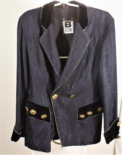 ... Superbe veste de soirée femme, noire de marque Bestini Paris, taille  42 44 ... 7cdeb45b79e8