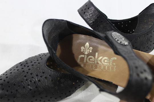Escarpin Rieker en cuir ajouré T41