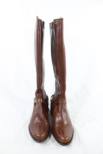 moins cher 005e9 4a62c Paire de bottes camel en cuir.San Marina.T37