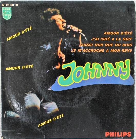 Johnny Hallyday ‎– Amour D'Ete (Philips / France, 1967). - Photo 0