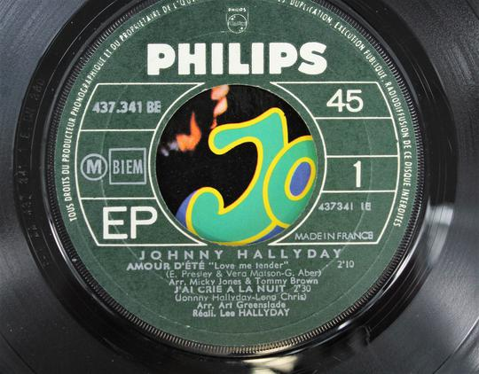 Johnny Hallyday ‎– Amour D'Ete (Philips / France, 1967). - Photo 3