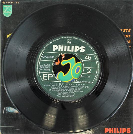 Johnny Hallyday ‎– Amour D'Ete (Philips / France, 1967). - Photo 4