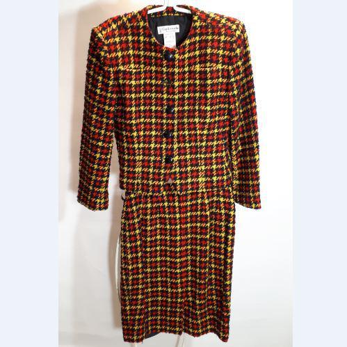 Ensemble femme veste jupe en laine Guy Laroche taille 40