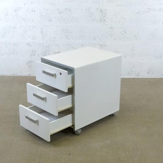 Caisson Ikea En Melamine 57x42x60cm Blanc Label Emmaus