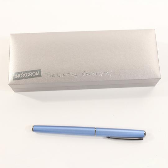 Stylo plume de marque inoxcrom sur label emmaüs boutique en ligne solidaire