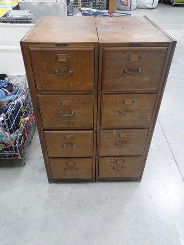 2 meubles de rangement annes 1950 photo 0