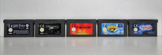 Lot de 5 jeux Game Boy Nintendo Advance - Photo 2