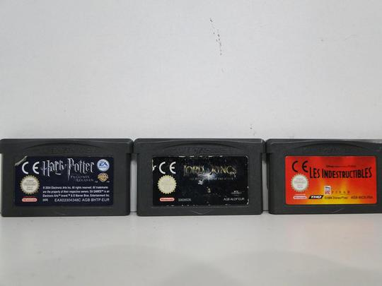 Lot de 5 jeux Game Boy Nintendo Advance - Photo 0