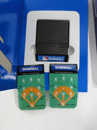Lot de 2 Jeux vidéo Intellivision - Baseball et Reversi - Photo 1