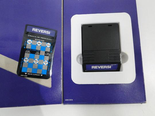 Lot de 2 Jeux vidéo Intellivision - Baseball et Reversi - Photo 2