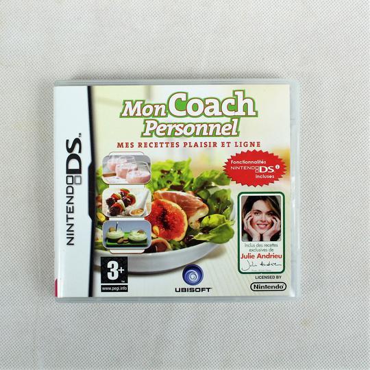 Lot De 2 Jeux Pour Nintendo Ds Mon Coach Personnel Mes