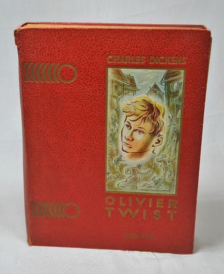 Label Editions Twist Dickens 1928 Emmaüs Oliver De Gédalge Charles BdCoxWreQ