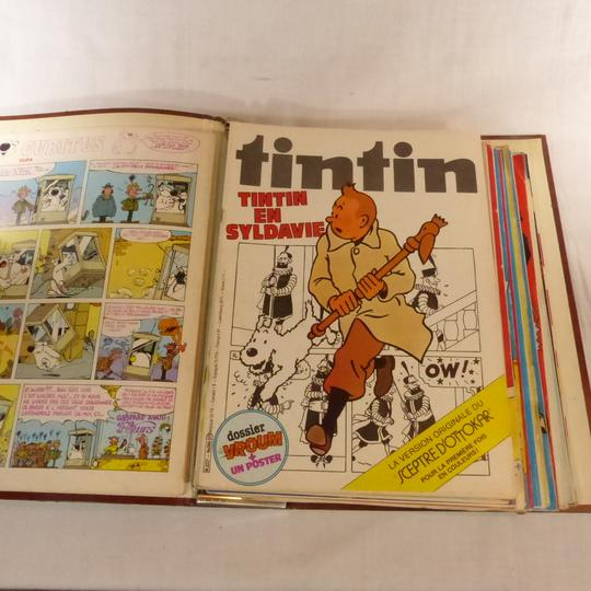 Illustrés Tintin reliés 1980 3 vol. - Photo 5
