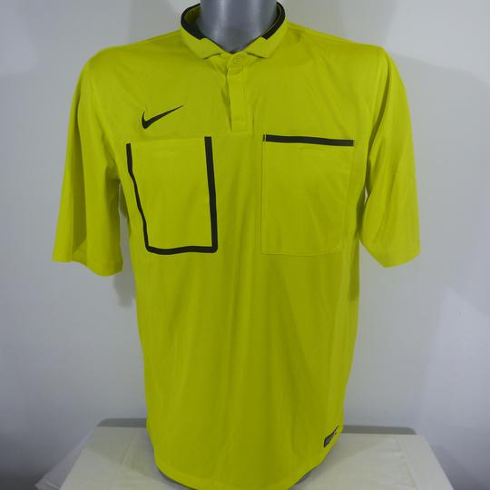 Maillot Arbitre Nike Demi manche DRI FIT Jaune taille L