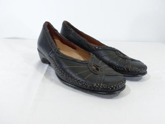 Ballerine Swedi neuve souple en cuir taille 37 couleur noir - Photo ... 59aa6aff7cc8