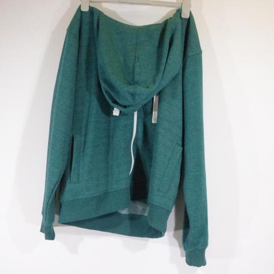 68235dd7b18d6 Sweat Homme zippé à capuche neuf vert dégradé XL sur Label Emmaüs ...